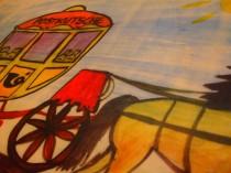 Bei der Kutschenfahrt beginnt alles damit, dass der Postkutscher erkrankt und somit der ganze Postsack mit allen Briefen liegenbleibt. Panpan und die Musikkinder machen sich gleich auf den Weg und fahren jede Stunde mit der Postkutsche durch´s Land, um die wichtigen Briefe auszuteilen. Natürlich erleben sie unterwegs viele spannende musikalische Abenteuer.